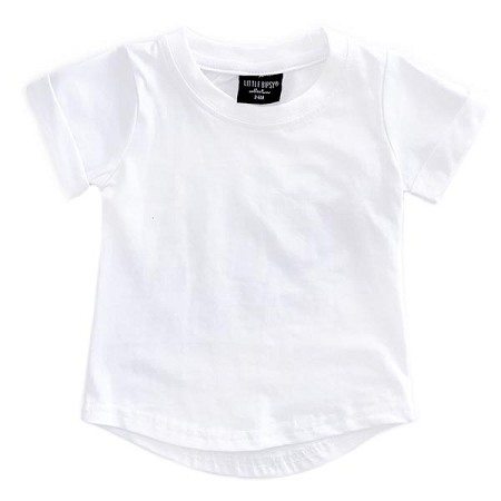 Little Bipsy Collection Basic Tee - White