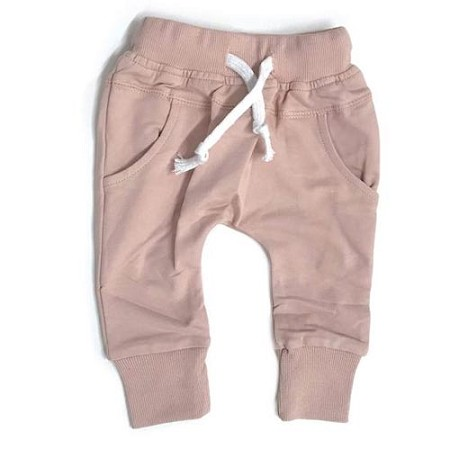 Little Bipsy Collection Joggers - Blush *CLEARANCE*