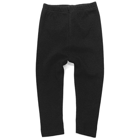 Little Bipsy Collection Ribbed Leggings - Black *CLEARANCE*