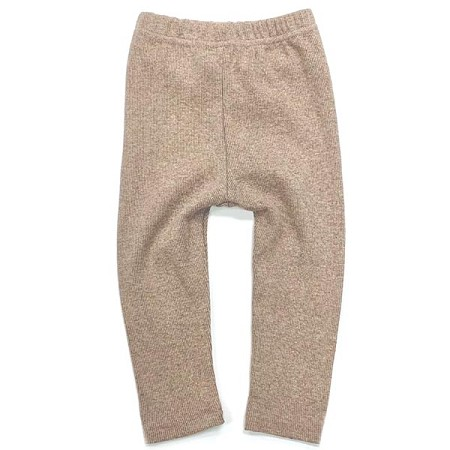 Little Bipsy Collection Ribbed Leggings - Taupe *CLEARANCE*