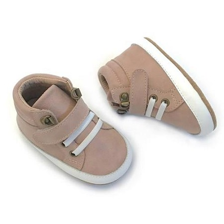 Little Bipsy Collection H-Tops Andersen - Blush Pink (Toddler Size 8)