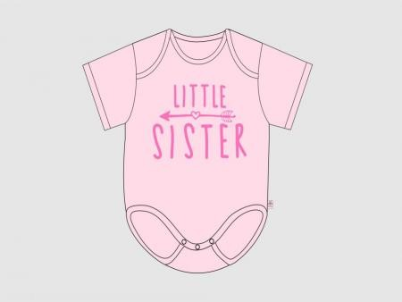 Itty Bitty Baby Little Sister Arrow Onesie *CLEARANCE*