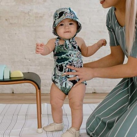 Little & Lively Romper - Chill Sloth *CLEARANCE*