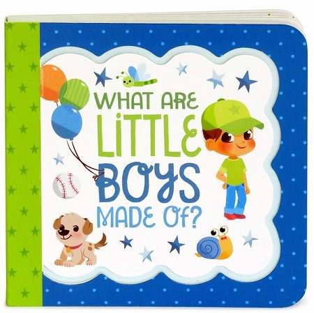 *Little Bird Greetings Keepsake Book - What Are Little Boys Made Of?