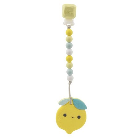 *Loulou Lollipop Lemon Teether with Holder