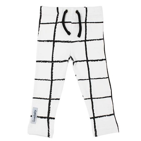 L'ovedbaby Organic Drawstring Leggings - Hopscotch *CLEARANCE*