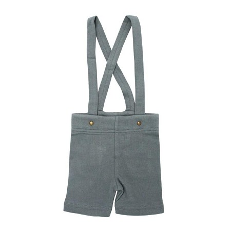 L'ovedbaby Suspender Shorts - Moonstone