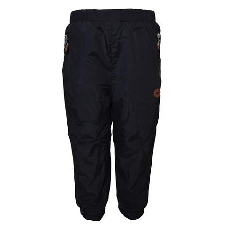 L&P Cotton Lined Outerwear Pants - Black (Lined in Polar)