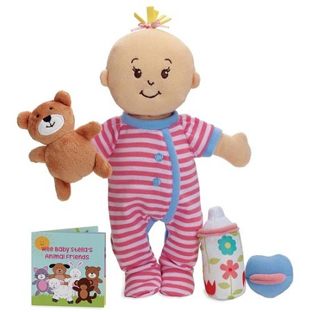 *Manhattan Toy Company Wee Baby Stella Peach Sleepy Time Scents Set