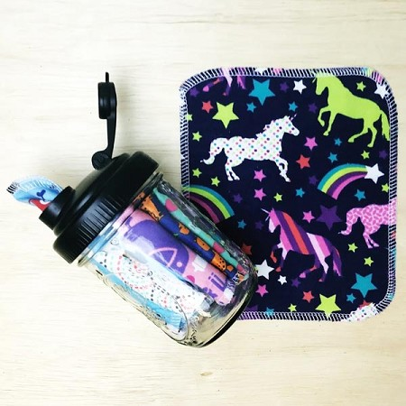 *Marley's Monsters Cloth Wipes in a Jar