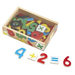*Melissa & Doug Magnetic Wooden Numbers