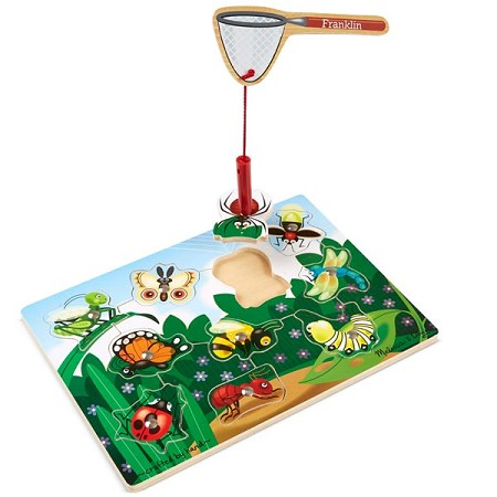 *Melissa & Doug Bug-Catching Magnetic Puzzle Game