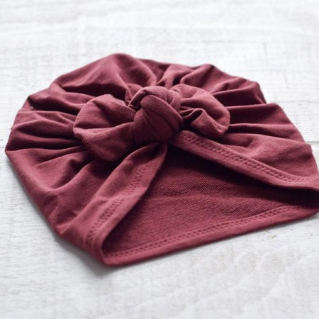 *Mini Bretzel Premium Bow Turban