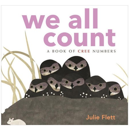 *Native Northwest Board Book - We All Count: A Book of Cree Numbers
