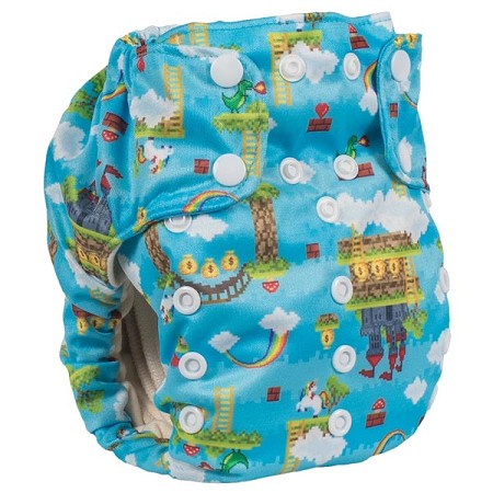 Smart Bottoms Smart One 3.1 One-Size All-in-One Cloth Diaper