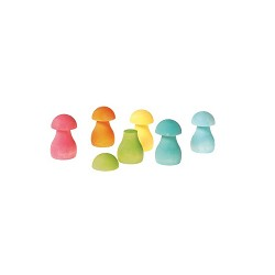 *Grimm's Sorting Game - Rainbow Mushrooms (12 Pieces)