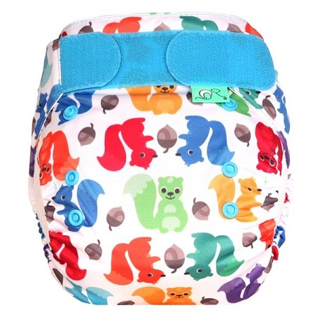 TotsBots Easy Fit Star One-Size All-in-One Cloth Diaper - Hook & Loop