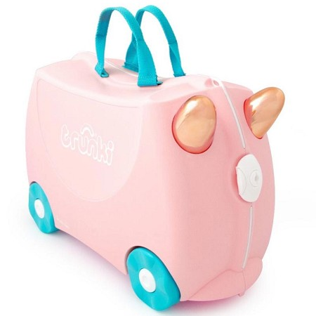 *Trunki Ride-on Suitcase - Flossi the Flamingo